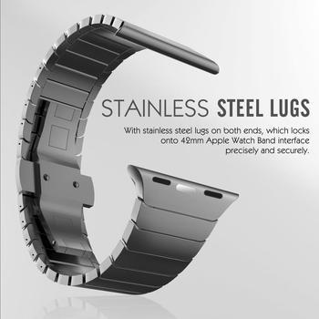 Браслет из нержавеющей стали для Apple Watch 38-42 мм 3