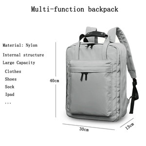 Image 5 - Ciepia 방수 야외 여행 배낭 여성과 남성 짧은 여행 캐주얼 노트북 배낭 대용량 roomy 가방 가방