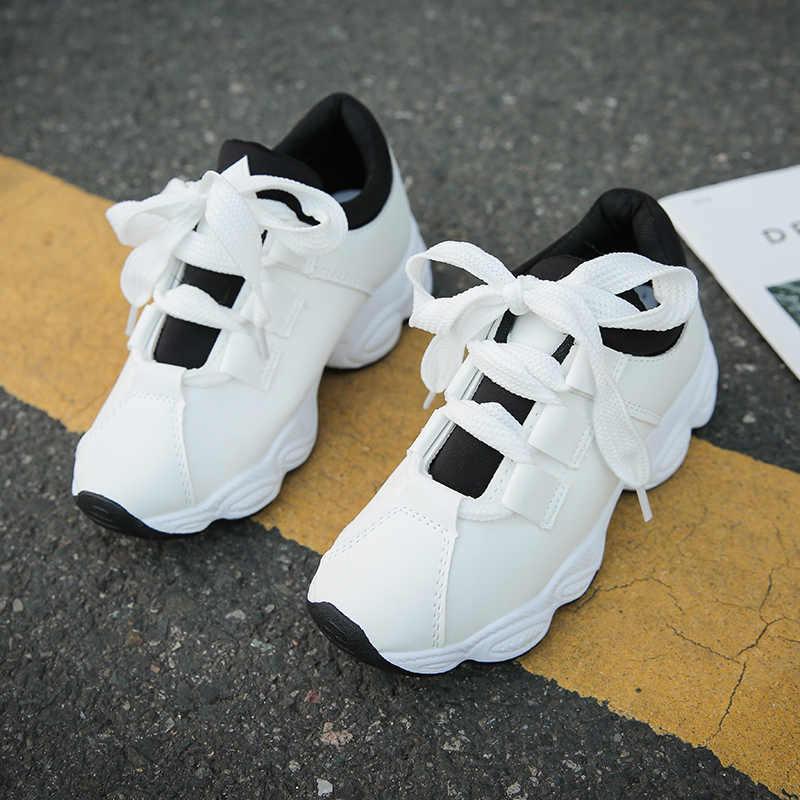 2019 חדש אופנתי אישה ריצה נעלי הגדלת 4CM תוספות גבוהה עקב גובה פלטפורמה לנשימה ספורט הליכה Gilrs