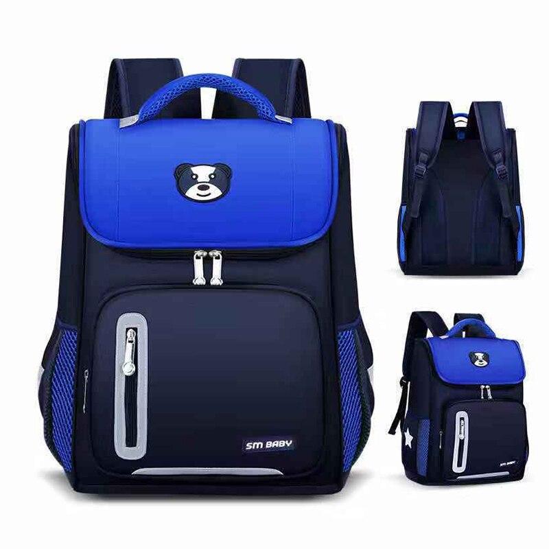 Children School Bags For Boys Girls Primary School Orthopedic Kids Backpack School Bag Child Waterproof Kindergarten Bookbag New