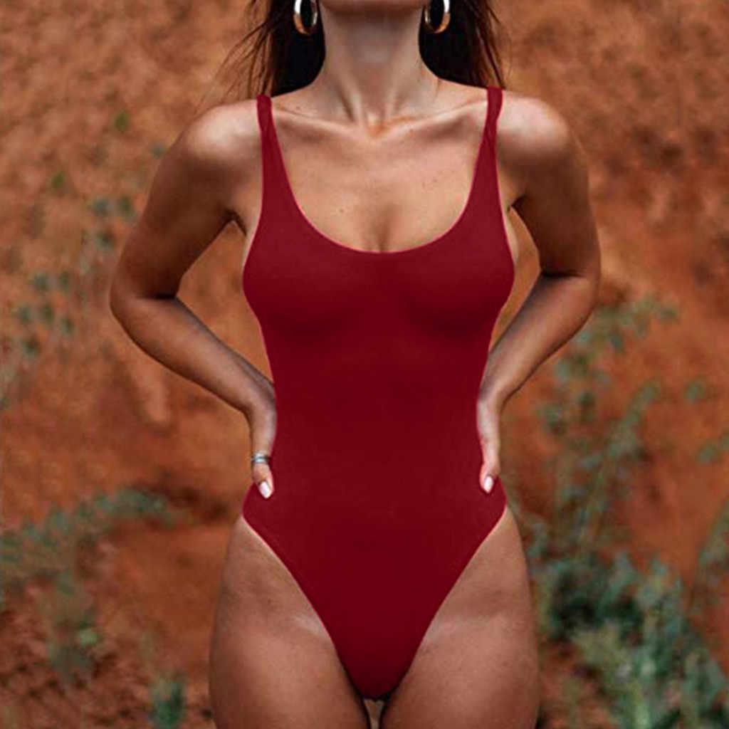 Sagace ビキニ水着女性用ワンピースおなかコントロールセクシーな女性はブラジルビキニプッシュアップ水着固体ビーチウェア
