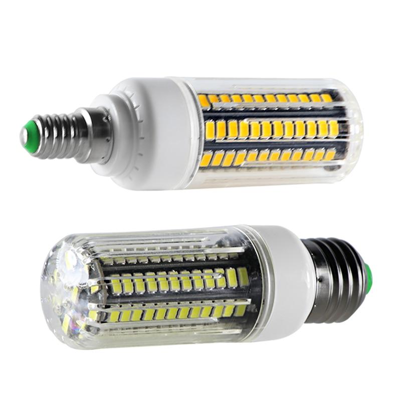 lampa led bulb light E27 E14 110V 220V 21W corn bulbs super SMD 5730 105 leds spotlight candle for home lighting E 27 high power in LED Bulbs Tubes from Lights Lighting