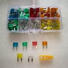Hoja de camión surtido caja de fusibles 5A 10A 15A 20A 25A 30A, para coche, barco, automotriz, pequeño, 120 Uds.