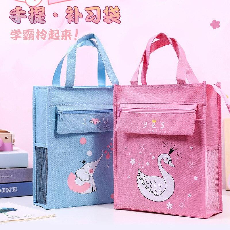 T0006 корейский стиль бу Си дай студентов сумка для переноски детей милый натуральный Детокс так Горячая у дай макияж пропущенных уроков