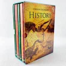 10 Pcs/Set Beginners History Enlightenment Picture Book Kids Children English Popular Science Reading Books