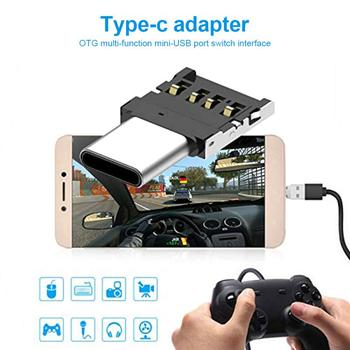 USB Type C OTG Adapter USB C Male To Micro USB Female Cable Converters For Macbook Samsung For Huawei Xiaomi USB To Type-c OTG недорого