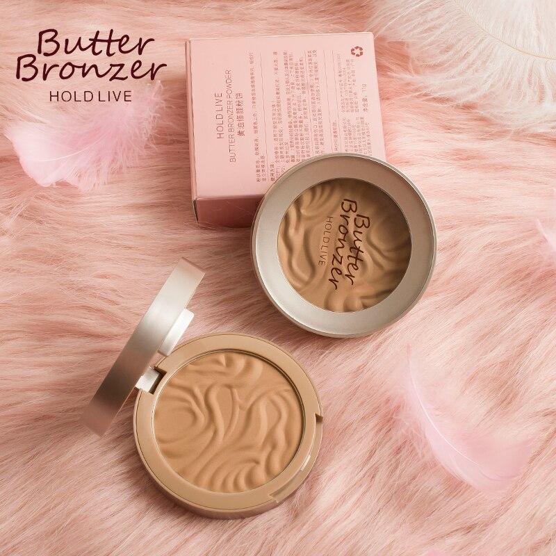 3D Face Butter Bronzer Powder Makeup Contour Brighten Cheek Concealer Natural Smooth Texture Long Lasting Oil-free Waterproof