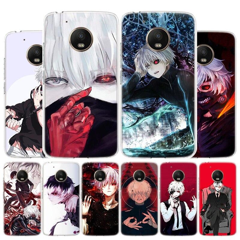 Tokyo Ghoul Kaneki Ken Phone Case For Motorola Moto G8 G7 G6 G5S G5 G4 E6 E5 E4 Plus Play Power One Action X4 Cover Coque