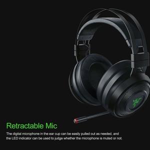 Image 4 - Razer Nari Ultimate Gaming ชุดหูฟังหูฟังไร้สายหูฟัง 7.1 หูฟังเสียงรอบทิศทาง THX เชิงพื้นที่เสียง Haptic ข้อเสนอแนะ