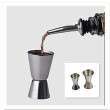 Measure Kitchen-Bar-Accessories Stainless-Steel Cocktail Jigger Drink-Spirit Dual-Shot