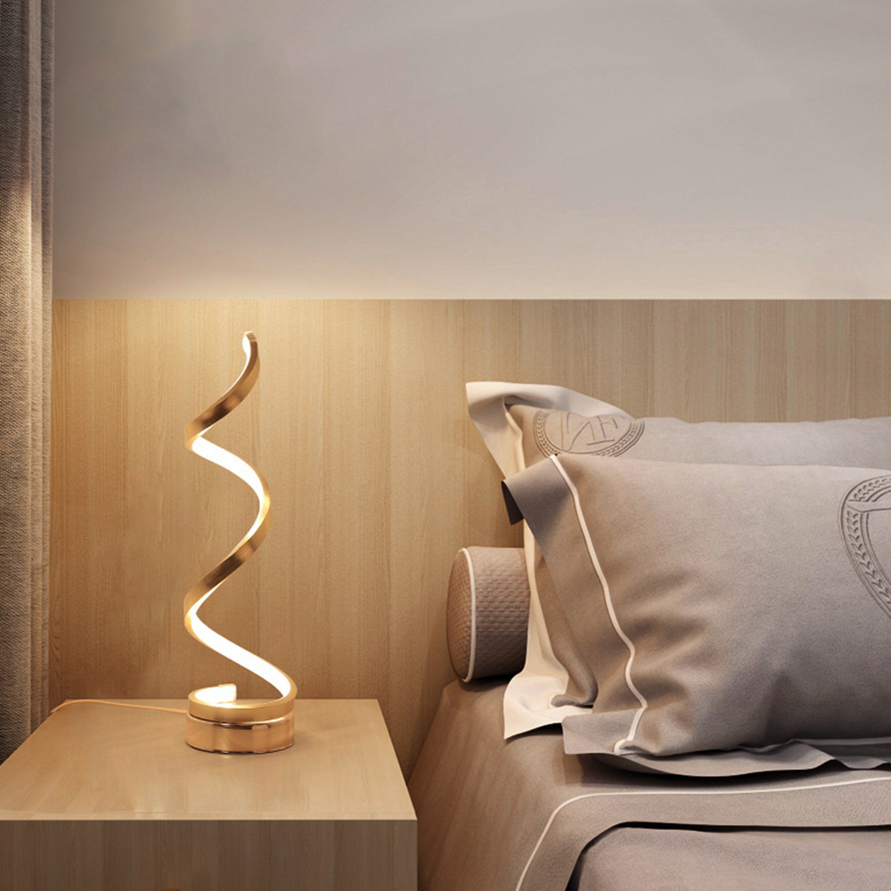 Zerouno Led Novelty Lamp Nordic LED Night Lights Novelty Illusion Night Lamp Illusion Table Lamp For Home Decorative Light