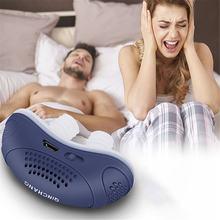 1 шт микро электрический анти храп электронное устройство сна
