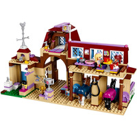 10562 Legoinglys Friends For Girl Heartlake Horse Riding Club Horse Stables Block Set Mia Stephanie Building Toy 41126 gifts