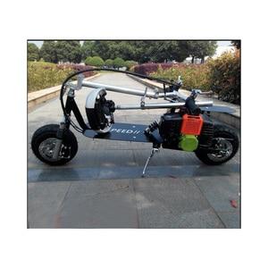 Image 2 - Faltbare Kühlen Benzin Roller Kraftstoff Booster Benzin Roller Spielen Roller Nicht Elektrische