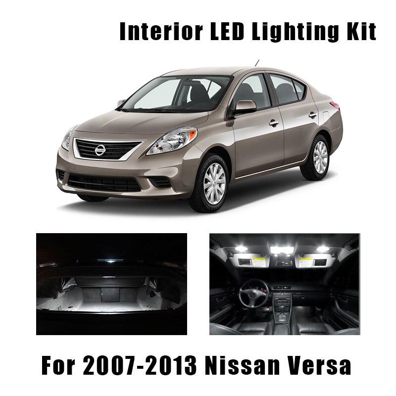 Chrome Door Handle Covers Trims For 12-19 Nissan Tiida Sunny Versa Sedan