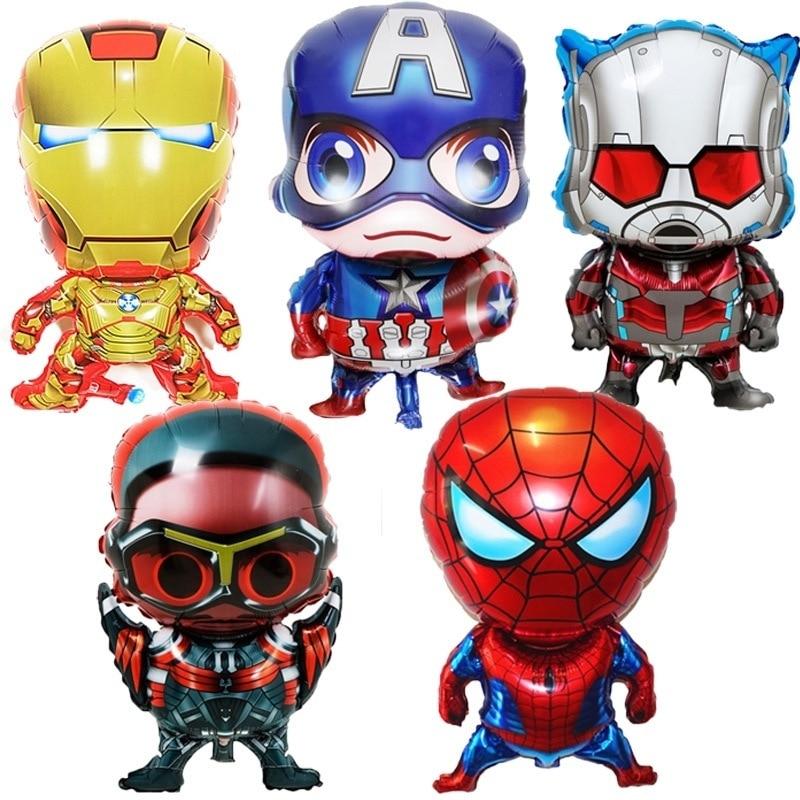 SPIDERMAN Superhero Marvel LARGE Foil Balloon Helium Kids Party Birthday baloons