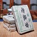 Более 15 лет Пуэр чай Китайский Юньнань старый сырой пуэр 250 г уход за здоровьем Пуэр чай кирпич ПУ-эр для похудения чай Китай чай
