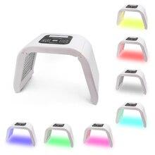 7 Kleuren Led Gezichtsmasker Photon Pdt Lichttherapie Huidverjonging Apparaat Spa Acne Remover Anti Rimpel Voor Vrouwen huidverzorging