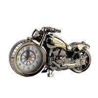 오토바이 오토바이 패턴 알람 시계 시계 크리 에이 티브 홈 생일 선물 2019 판매|여성용 시계|   -