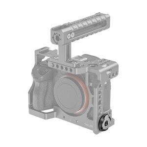 Image 5 - SmallRig DSLR מצלמה Rig שטוח ראש מברג עם Baseplate ערכת (זוג) קל לשאת 2453