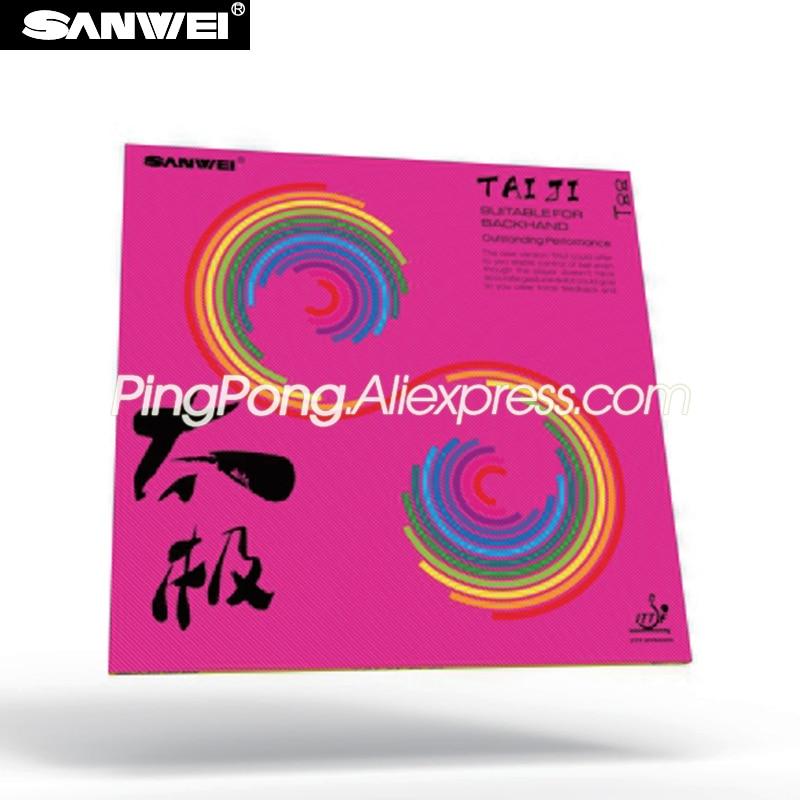 SANWEI TAIJI PLUS (TAICHI) SANWEI Table Tennis Rubber (Pink Tension Sponge) SANWEI Ping Pong Rubber