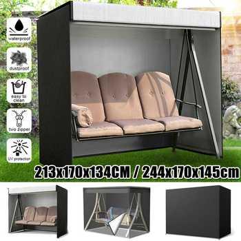 New Swing Hammock Table Furniture Cover Waterproof Dustproof UV Protector Outdoor Patio Garden Rain Snow Chair Sofa covers