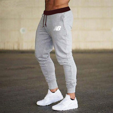 Spring Autumn Men's Jogging Splicing Design Sweatpants NewCotton Men's Fitness Multi-Pocket Jogging Pants Fashion Training Suit