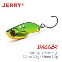 Jerry 1pc 2,8g 3.5g 5g спиннинг рыболовная лезвие VIBEs опускается на дно твердое тело наживка блесна металлическая приманка Tengsten