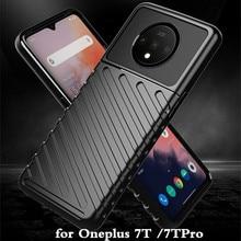 สำหรับ OnePlus 7 T 7 T PRO TPU สำหรับ Oneplus7t 7tpro กลับ Coque ONE PLUS 7 T กันกระแทก 1 + 7 T Mofi Anti KNOCK Full EDGE