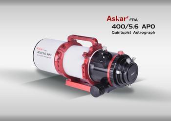 Sharpstar akar 400/f5.6 APO astrograf fotograficzny obiektyw gwiazdowy 72Q ED obiektyw
