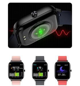 Image 3 - SENBONOกีฬาI10สมาร์ทนาฬิกาฟิตเนสTracker Heart Rate Monitorสร้อยข้อมือSmartwatchผู้ชายผู้หญิงบลูทูธIOS Android
