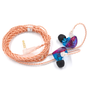 Image 3 - AK Original KZ ZST Colorful BA+DD In Ear Earphone Hybrid Headset HIFI Bass Noise Cancelling Earbuds With Mic Replaced Cable ZSN