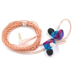 Image 3 - AK auriculares internos híbridos KZ ZST, con cancelación de ruido y micrófono, ZSN