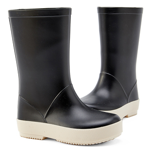 Image 3 - DRIPDROP طفل أحذية مطر للأطفال الفتيات الفتيان الكلاسيكية الأحذية المدرسية Rainсoat المطر ملابس ضد المطر طفل معطف واق من المطر