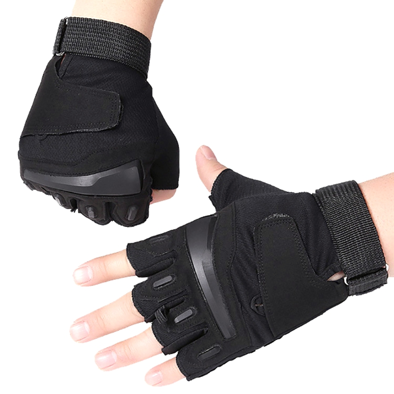 CS Tactical Gloves Military Fingerless Army Training  Outdoor Sports Cycling Motorcycle Gym Half Finger Men's Driving Gloves