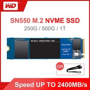 Western Digital Blue SN550 SSD 250GB 500GB 1TB M.2 2280 NVMe PCIe Gen3*4 Internal Solid State Drive For PC 2020 New Model