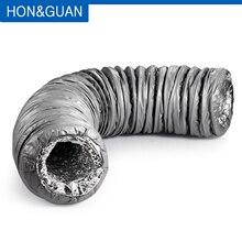本町 & 関4 〜8 ダクトサイレンサー低ノイズ柔軟な換気ホース絶縁アルミ空気ダクトパイプエアコン用1.2メートル