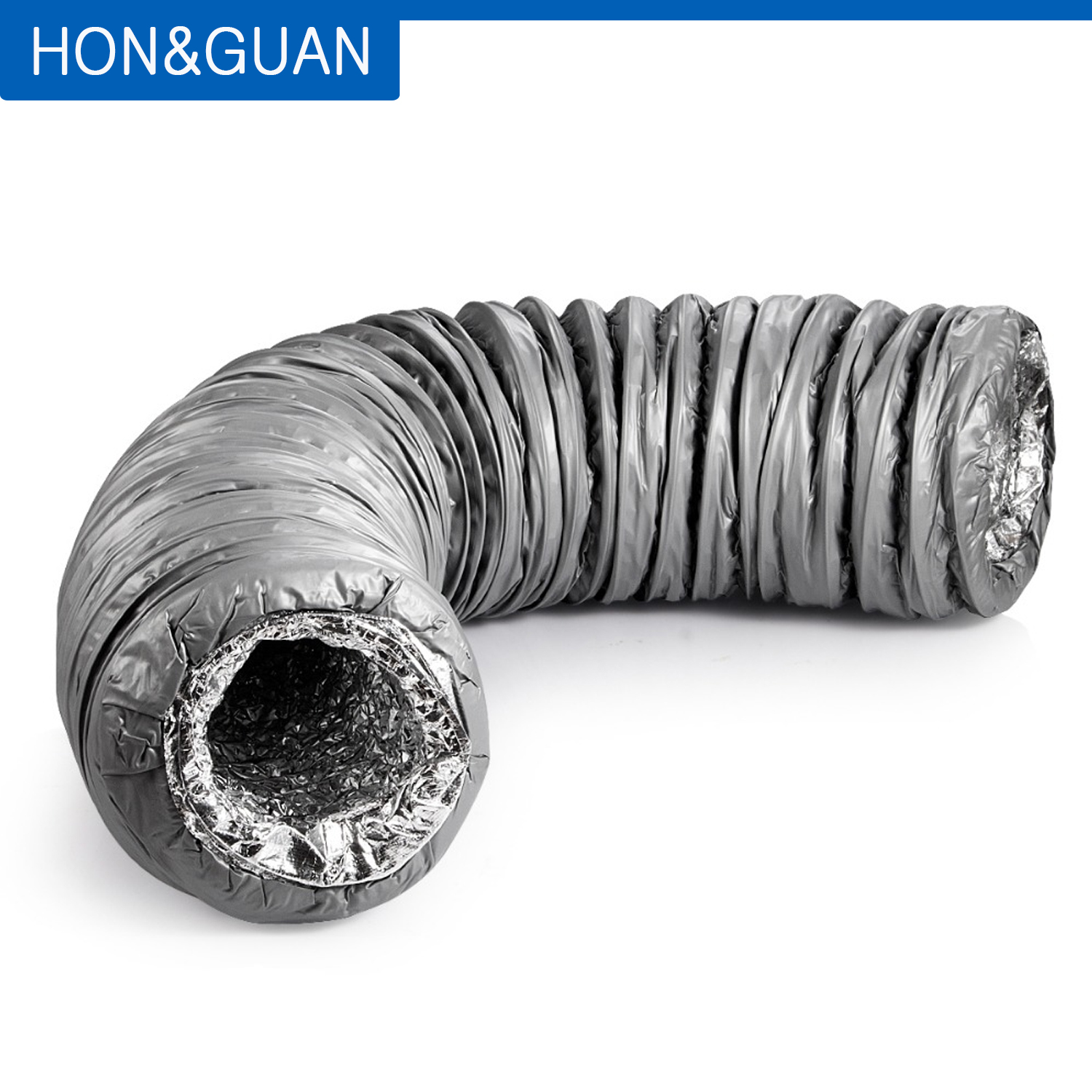 4 Inch Bewox Flexible Ventilation Duct Exhaust Hose for Portable Air Conditioner