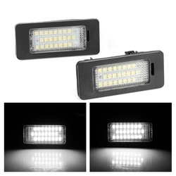 2X Canbus Error Free Led License Number Plate Lights for VW Golf VI Variant 2010 Passat Variant 2011Golf Plus LED License Lamp