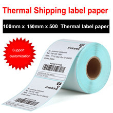 High quality Thermal sticker paper thermal label paper Thermal stickers bar code printing signature for Thermal printers