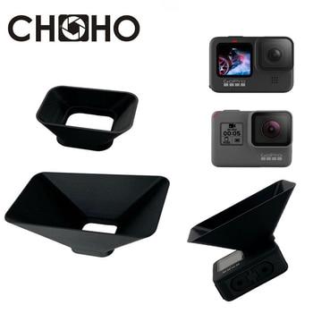 For GoPro Hero 9 Black 5 6 7 Accessories Lens Hood Anti-glare Protective Case Lente Sunshade For Go Pro Hero 5 6 7 9 Black 1