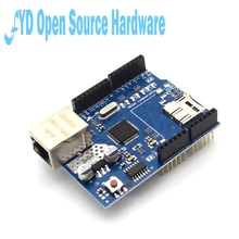 1 adet kalkan Ethernet kalkanı W5100 R3 UNO Mega 2560 1280 328 UNR R3 W5100 arduino için geliştirme kurulu