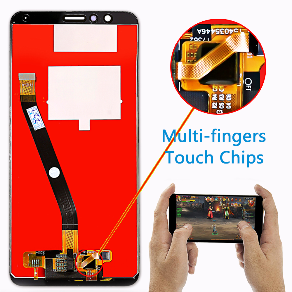 Huawei Honor 7X BND L21 BND L22 BND L24 5 93 inch LCD display For Mate Huawei Honor 7X BND-L21 BND-L22 BND-L24 5.93 inch LCD display For Mate SE Touch Screen Digitizer Assembly Frame With Free Tools