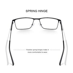 Image 4 - Merrys Ontwerp Mannen Titanium Legering Glazen Frame Bijziendheid Recept Brillen Optische Kader Stijl S2177