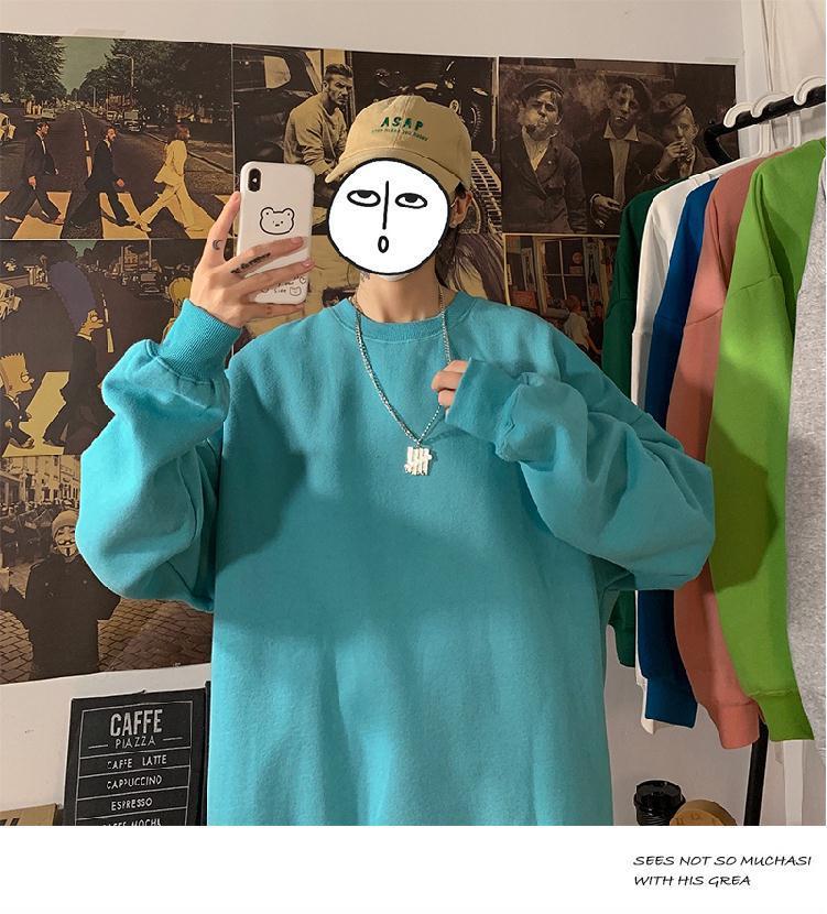 H15b974a2b02b4590af57a45b02f31d2fE loose Korean style plus size sweatshirt winter clothes streetwear women 2020 new fashion plus velvet oversize harajuku hoodie