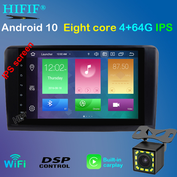 PX5 Android 10 4GB+64GB 8 CORE car GPS radio for Mercedes Benz ML GL W164 ML350 ML500 stereo navigation receiver NO DVD unit image