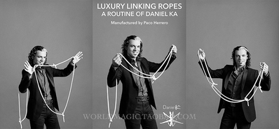 Linking Ropes Magic Tricks Comedy Stage close Up Magia Magician Illusion Mentalism Gimmick Props Funny Rope Magie Classic Toys in Magic Tricks from Toys Hobbies
