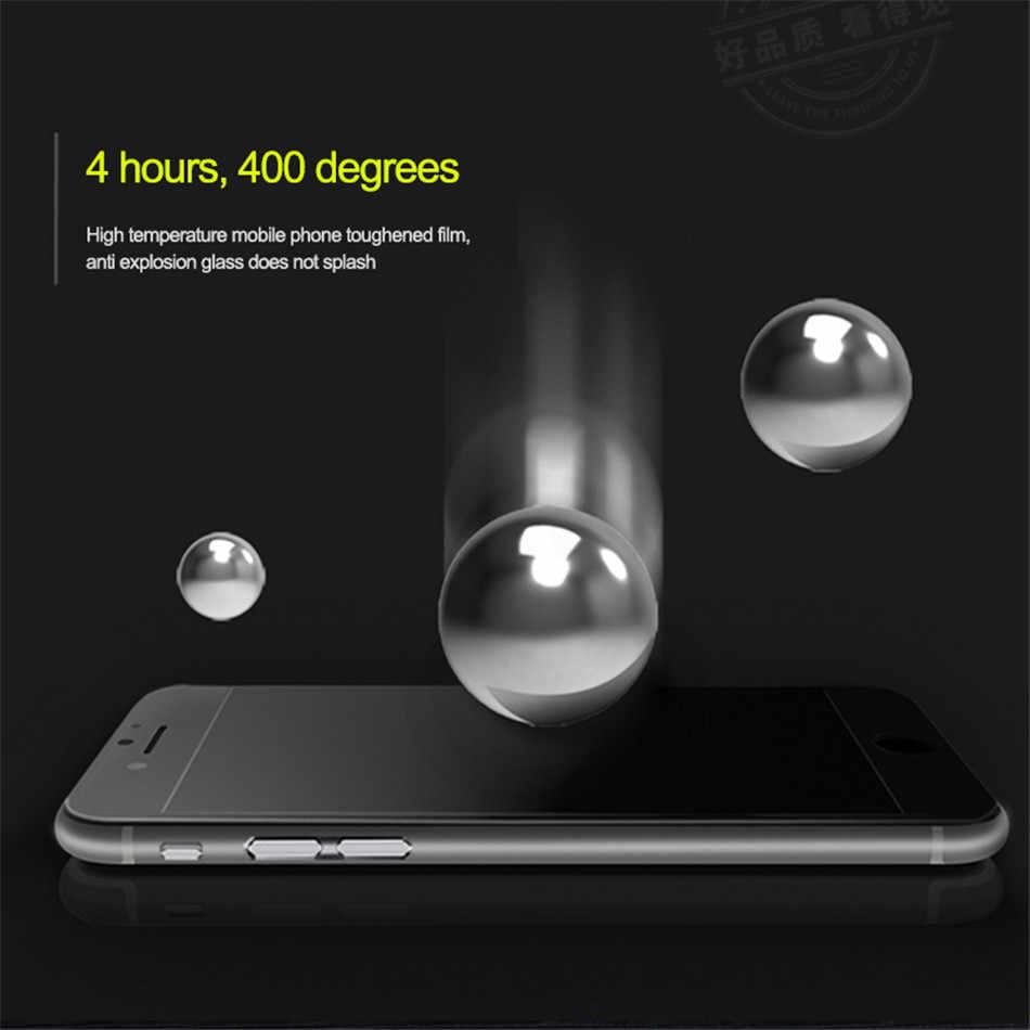 جديد 9D منحني غطاء كامل زجاج واقي ل iphone 7 8 6 6S شاشة واقٍ زجاجي على ل iphone 8 6s 7 6 زائد المقسى فيلم