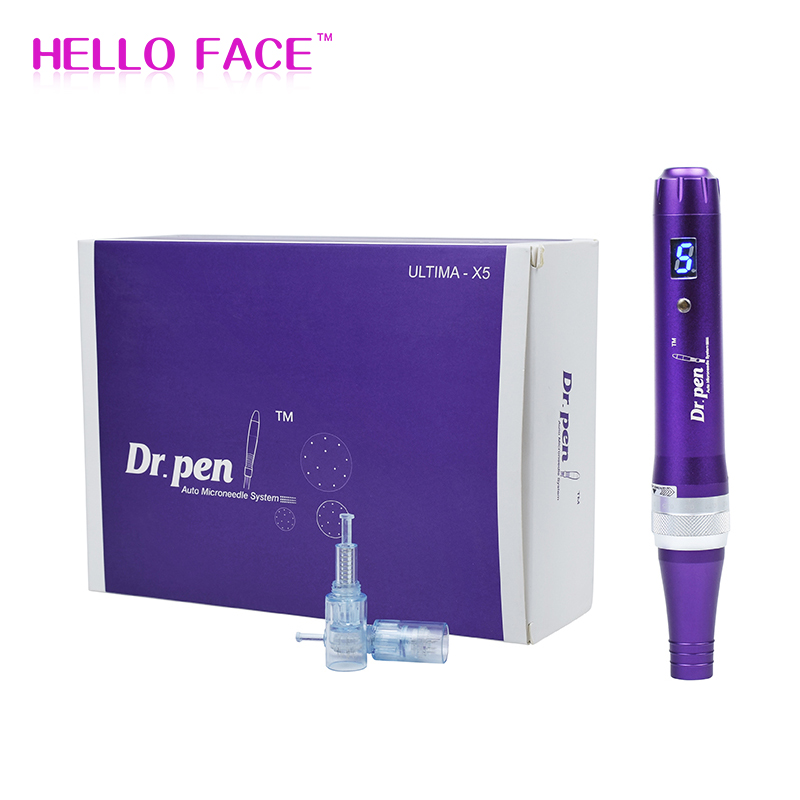 Dr.pen Ultima X5 Wireless Microneedling pen Electric Skin Care Micro Needle Derma Pen MTS Therapy Beauty Machine with LED Screen