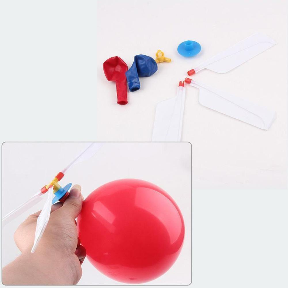 DIY Balloon Helicopter Balloon Handmade Airplane Model Toy As A  Gift For Your Give Away Hot Air Balloon